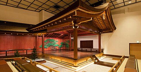 山本能楽堂(国登録文化財)