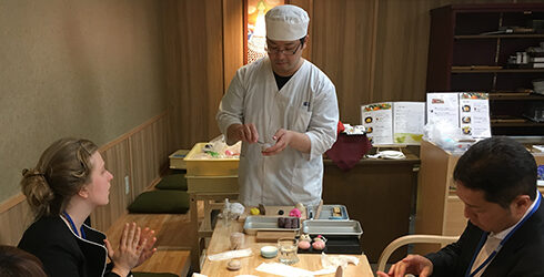 和菓子(練きり)作り体験